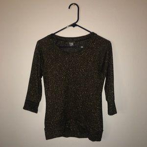 Black/Gold Sweater